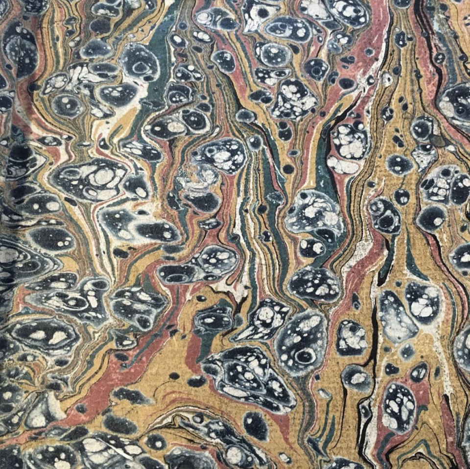 Example of #marbledmonday post (@mcgill_rare)